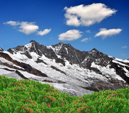 swiss alps: Dom i Taschhorn - Alpy Szwajcarskie