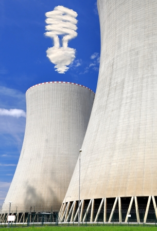 Nuclear power plant Temelin in Czech Republic Europe  Stock Photo - 14866238