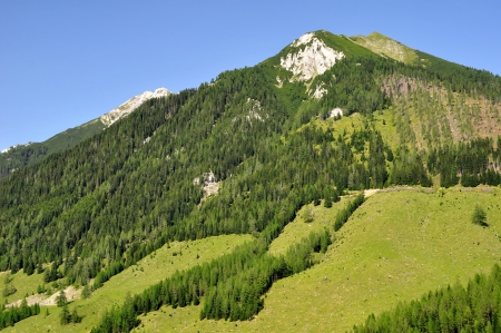 Austrian Alps - Europe  Stock Photo