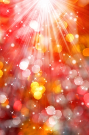 Abstract christmas bokeh  Stock Photo - 14966874
