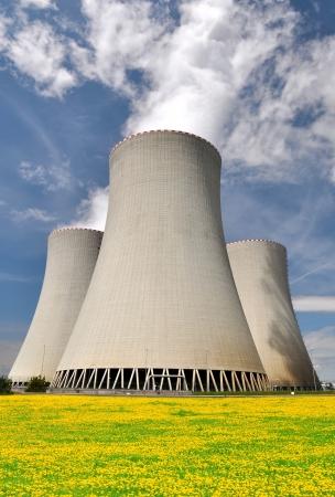Nuclear power plant Temelin in Czech Republic Europe  Stock Photo - 15418263