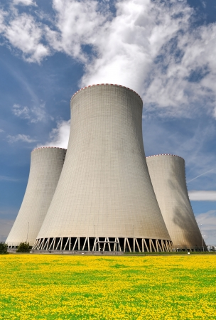 Nuclear power plant Temelin in Czech Republic Europe  Stock Photo - 15418263