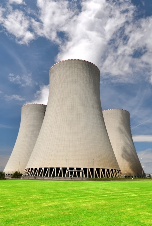 nuclear reactor: Nuclear power plant Temelin in Czech Republic Europe