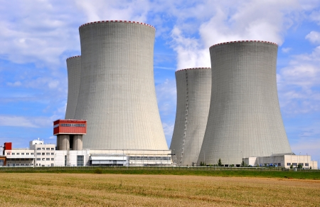 Nuclear power plant Temelin in Czech Republic Europe  Stock Photo - 15647479