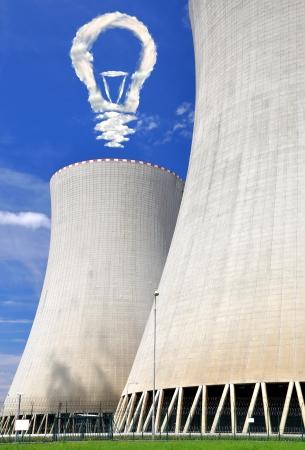 Nuclear power plant Temelin in Czech Republic Europe  Stock Photo - 15647477
