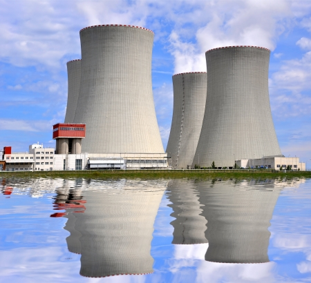 Nuclear power plant Temelin in Czech Republic Europe  photo