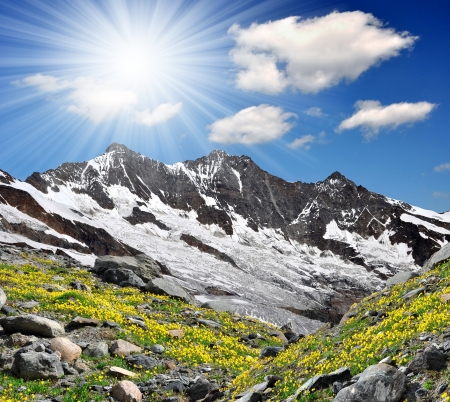 wallis: Dom and Taschhorn - Swiss alps
