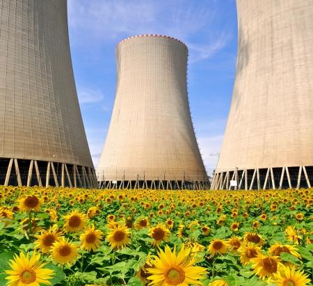 Nuclear power plant Temelin in Czech Republic Europe  Stock Photo - 15659420