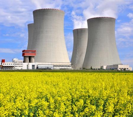 Nuclear power plant Temelin in Czech Republic Europe Stock Photo - 15711594