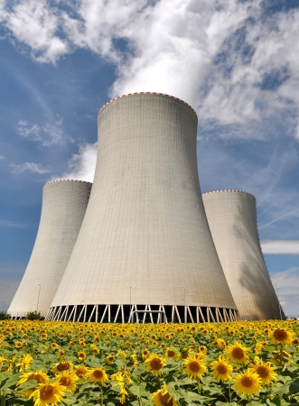 Nuclear power plant Temelin in Czech Republic Europe  Stock Photo - 15688142