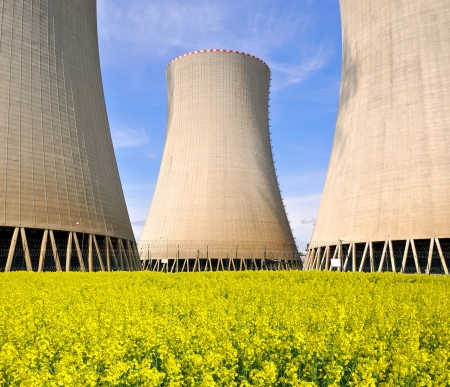 Nuclear power plant Temelin in Czech Republic Europe  Stock Photo - 15637223