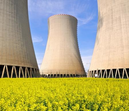 Nuclear power plant Temelin in Czech Republic Europe  Stock Photo - 15637223