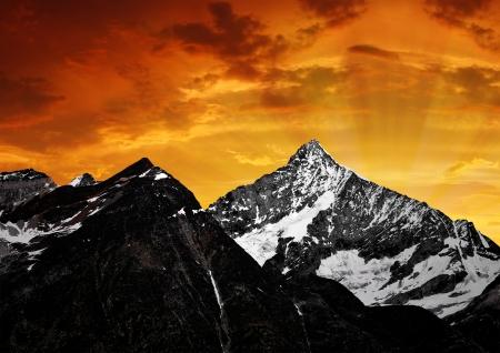 zermatt: Weisshorn - Swiss alps  Stock Photo