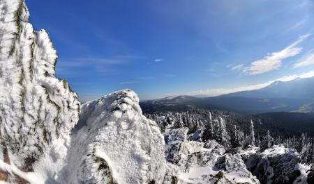 wintrily: Inverno nel parco nazionale Sumava - Repubblica Ceca
