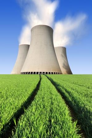 Nuclear power plant Temelin in Czech Republic Europe  Stock Photo - 16303464