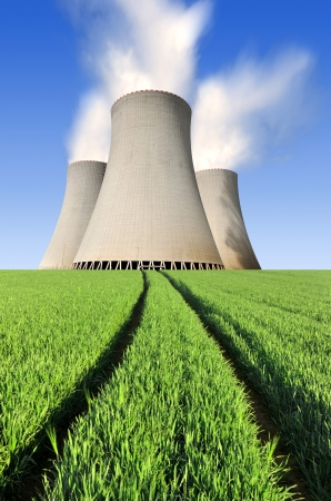 Nuclear power plant Temelin in Czech Republic Europe Stock Photo - 16303464