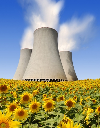 Nuclear power plant Stock Photo - 16254424