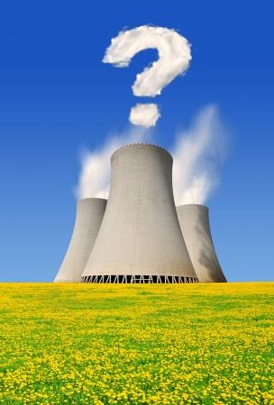 evaporacion: Central nuclear