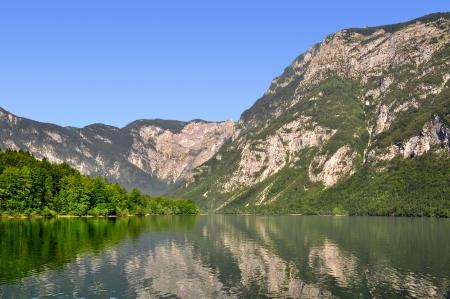 bohinj: Lake Bohinj in Julian Alps - Slovenia