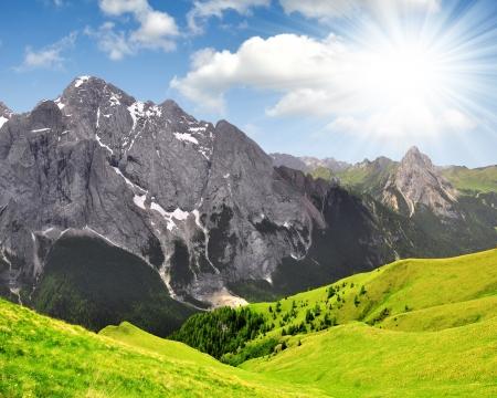 clearness: Marmolada peak,Val di Fassa - Italy Alps