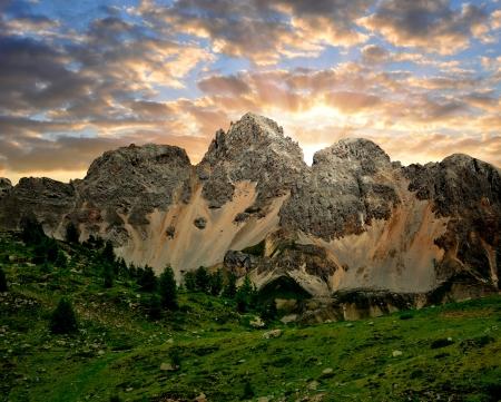 fassa: Val di San Pellegrino - Italy Alps
