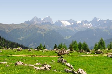 clearness: Marmolada peak,Val di Fassa - Italy Alps  Stock Photo