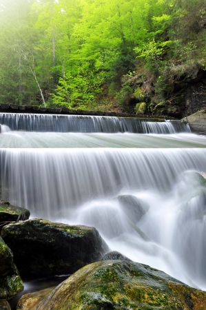 spruit: waterfalls in the Bavarian Forest-Germany