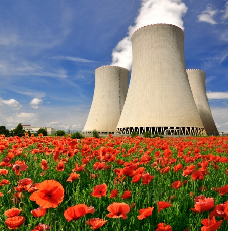 nuclear plant: Nuclear power plant Temelin in Czech Republic Europe