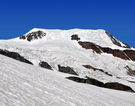 wallis: mountain Alphubel - Wallis, Swiss alps