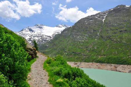 Dam Mattmark-Swiss Alps