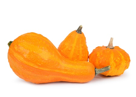 ash gourd: pumpkin isolated on white background