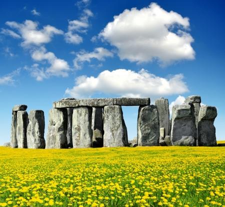 stonehenge: Historical monument Stonehenge,England, UK