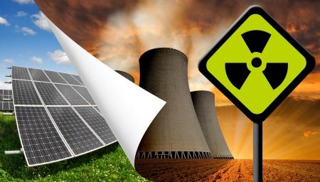 radiacion solar: Los paneles solares y plantas de energ?a nuclear