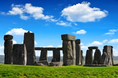 celts: Historical monument Stonehenge,England, UK