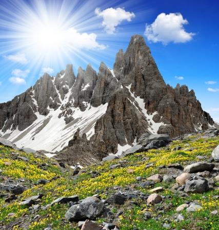 dolomite: Paternkofel,Dolomite Alps,Italy