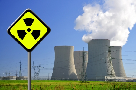 Nuclear waste: Nuclear power plant