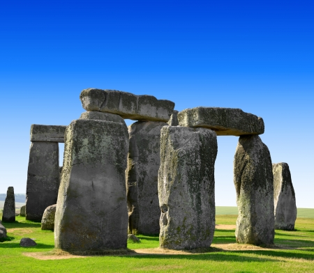 edad de piedra: Monumento histórico Stonehenge, Inglaterra, Reino Unido