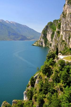 garda: Lago di Garda, largest Italian lake,North Italy