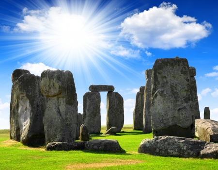 Historical monument Stonehenge,England, UK  photo