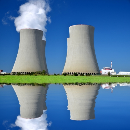cooling towers: Nuclear power plant