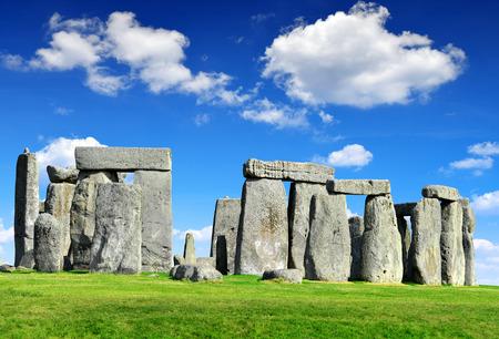 Historisches Denkmal Stonehenge, England, UK Standard-Bild