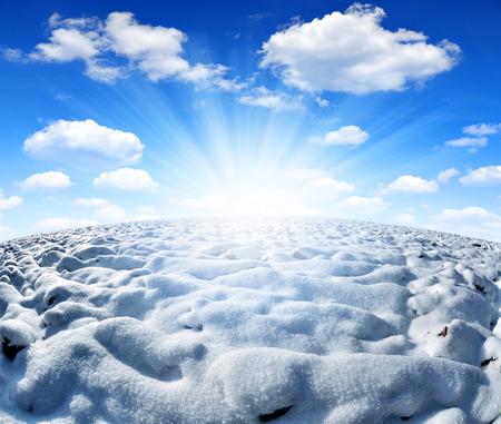 Winter field  Stock Photo - 25805759