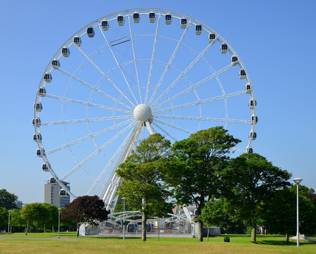 devon: The Big wheel, Plymouth Hoe, Devon, UK