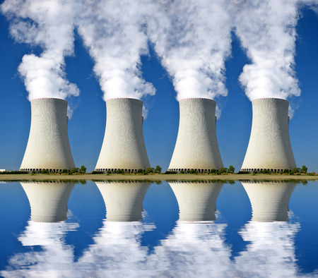 industria quimica: Central nuclear