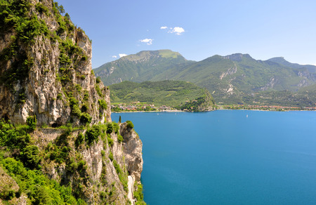 garda: Lago di Garda, largest Italian lake,North Italy