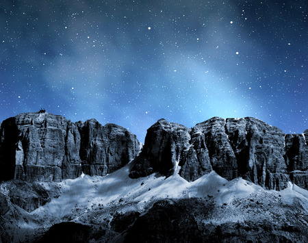 sella: Dolomite peaks,Sella,Val di Fassa, Italy Alps Stock Photo