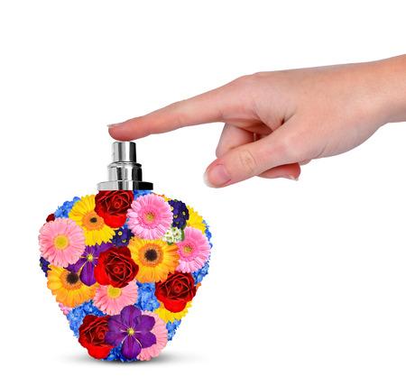 Flower perfume photo