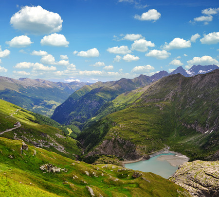 tauern: Beautiful landscape with Alps in Nationalpark Hohe Tauern, Austria