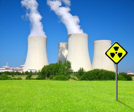 temelin: Nuclear power plant Temelin in Czech Republic Editorial