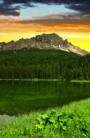 lake misurina: Lake Misurina - Dolomites, Italy